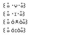 羊の顔文字
