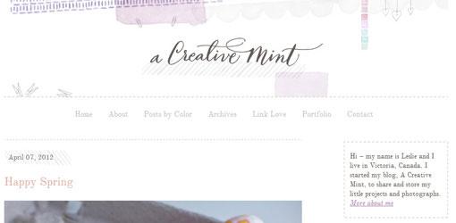 a creative mint