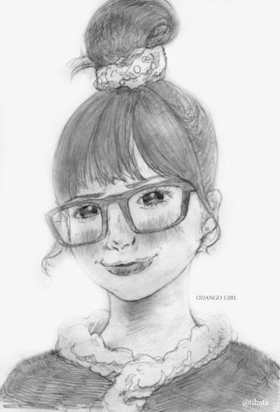 久しぶりに可愛い女の子を描いたので思い出したこと徒然に書い