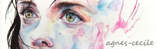 にじみ・はねをアクセントにあっという間に幻想的な絵を描きあげる水彩アートがステキ