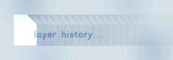 【小技メモ】Photshopでレイヤーの表示/非表示もヒストリーに残す方法
